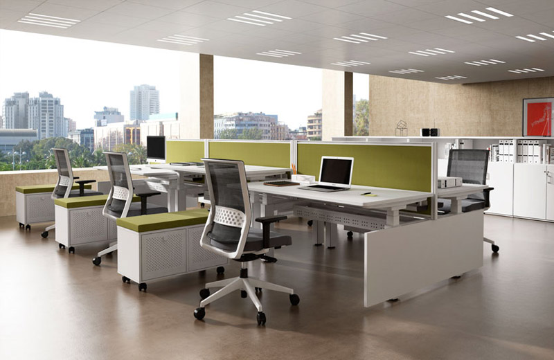 Shared office infrastructure